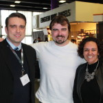 Scott Stratten / @unmarketing + Mark Johnson, Prism Technologies + Dahlia El Gazzar / DAHLIA+ at #MPITechcon